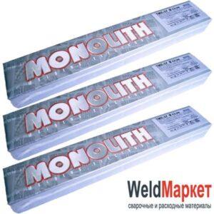 Электроды для сварки теплоустойчивых сталей ТМЛ-3У Монолит