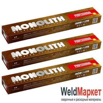 Электроды Monolith Professional 4мм 5кг