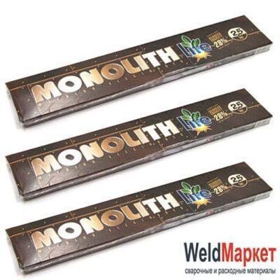 Электроды Монолит 2.5 мм пачка 1кг