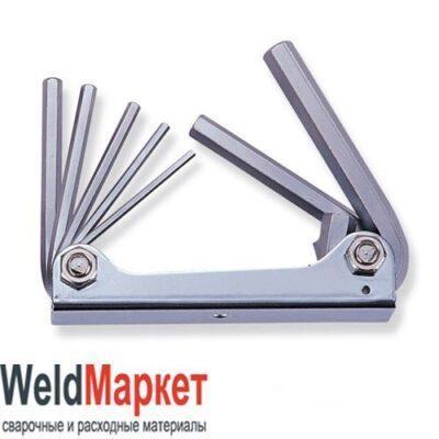 Комплект шестигранников в ключнице, 7предметов, H01M07SF