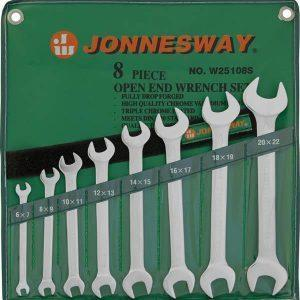 Набор рожковых ключей 6-22 JONNESWAY W25108S