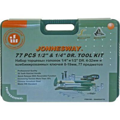 универсальный набор инструментов Jonnesway S04H52477S