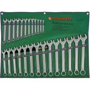 набор комбинированных ключей Jonnesway W26126S