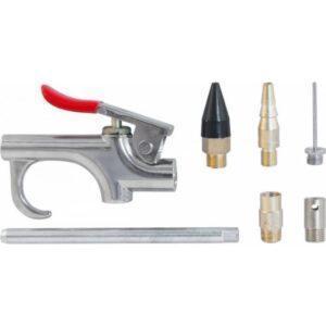 продувочный пистолет с насадками THORVIK ABGK7