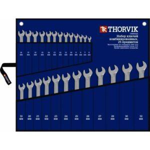 набор комбинированных ключей THORVIK CWS0025