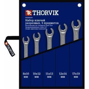 набор разрезных ключей THORVIK FNWS005
