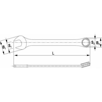 ключ 21мм THORVIK CW00021