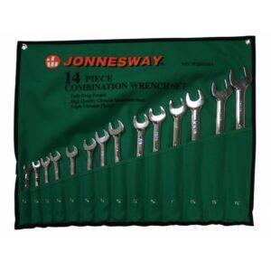 набор комбинированных ключей Jonnesway W26114SA
