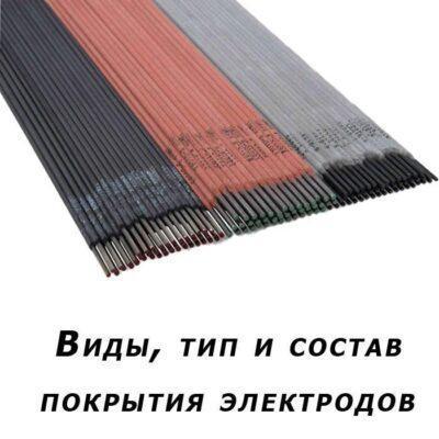 Тип покрытия электродов